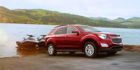 Chevrolet Equinox Towing Jet Skis