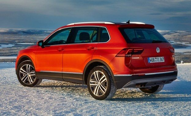 Volkswagen Tiguan Most Reliable SUV