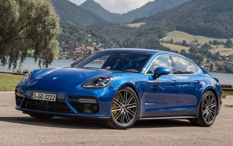 2018 Porsche Panamera Turbo S. A List Of 4 Door Sports Cars ...