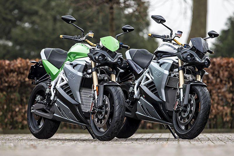 Energica Motorcycle 1