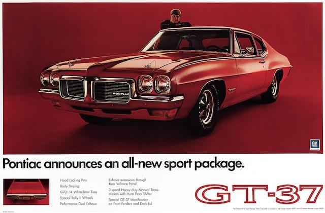 Classic Pontiac Cars - 1970-1971 GT-37