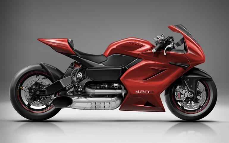 MTT 420RR Turbine Motorcycle - MTT Motorcycle 1