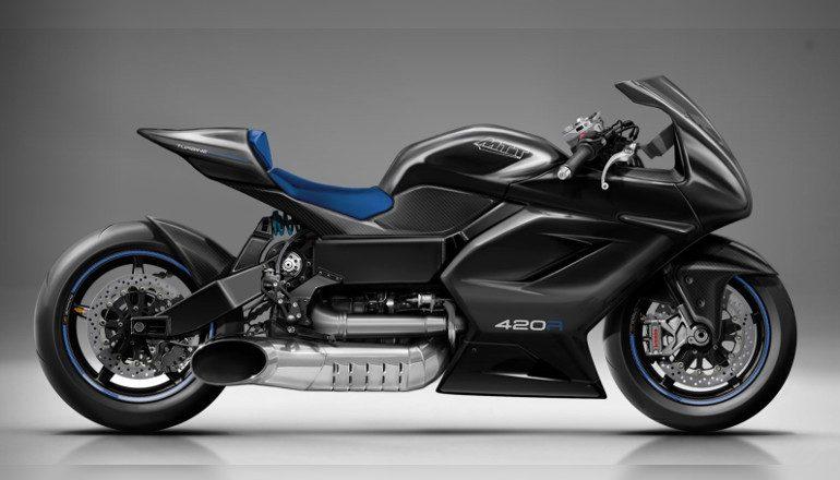 MTT 420RR Turbine Motorcycle - MTT Motorcycle 2