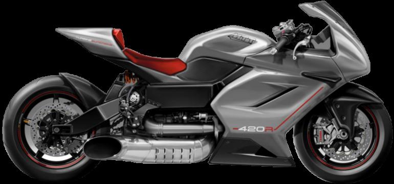 MTT 420RR Turbine Motorcycle - MTT Motorcycle 4