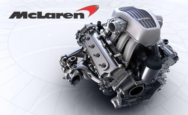 McLaren 4.0L M840T Twin-Turbo V8
