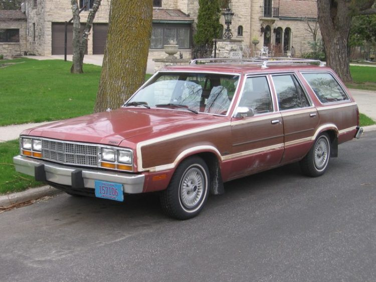 Forgotten Ford Cars - 1981 Fairmont Futura Wagon