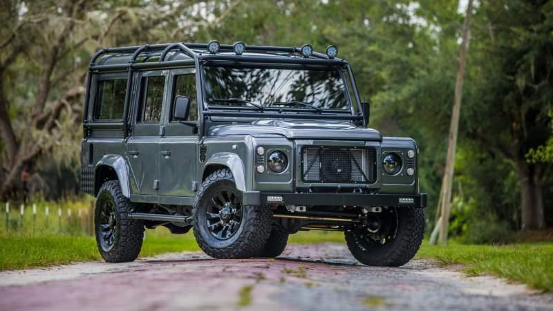 Land Rover Defender Project Kingsman East Coast Defenders