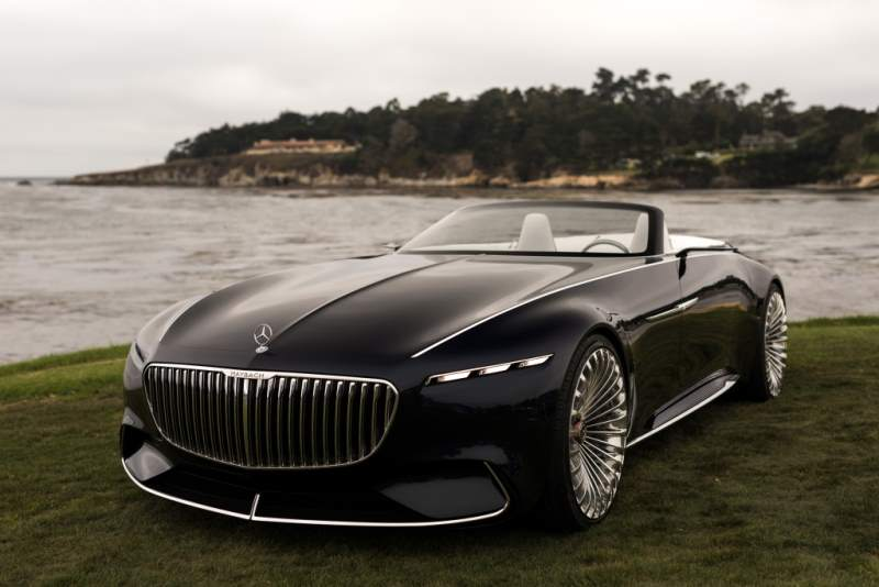 Mercedes-Maybach Vision 6 Concept Convertible