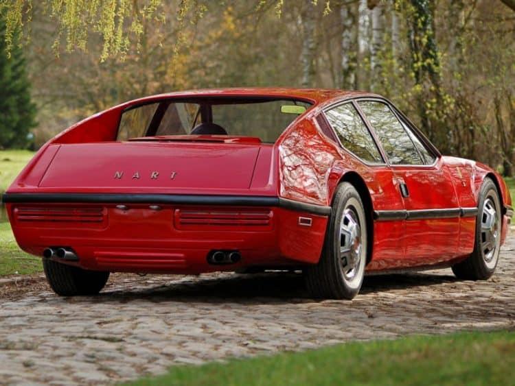 Overlooked Classic Cadillac Models - 1970 NART Zagato Rear