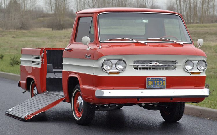 Old Chevy Trucks That Time Forgot - 1961-1965 Greenbrier Rampside