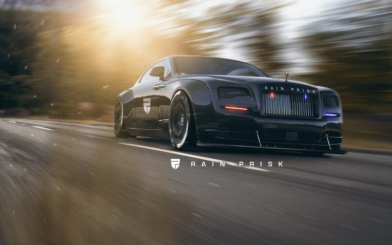 Police Rolls-Royce Wraith