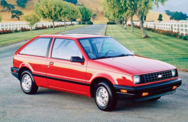 1985-1988 Chevrolet Spectrum