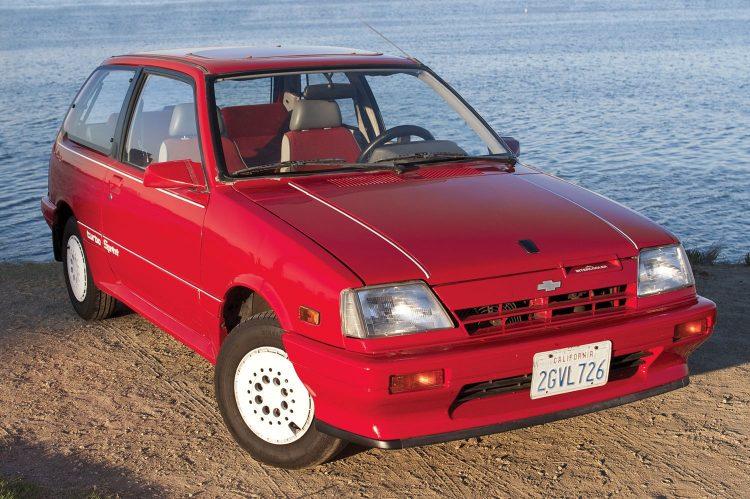 1984-1988 Chevrolet Sprint