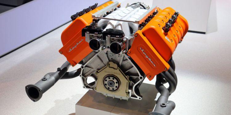 Koenigsegg 5.0L Spyker V8