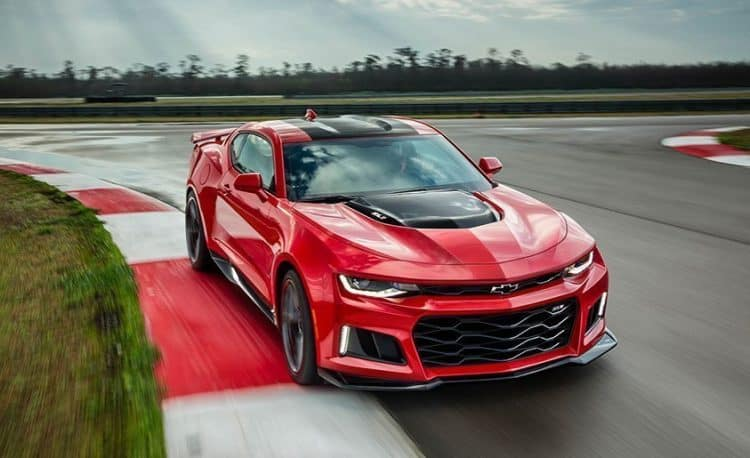 Most Powerful American Muscle Car - Chevrolet Camaro ZL1