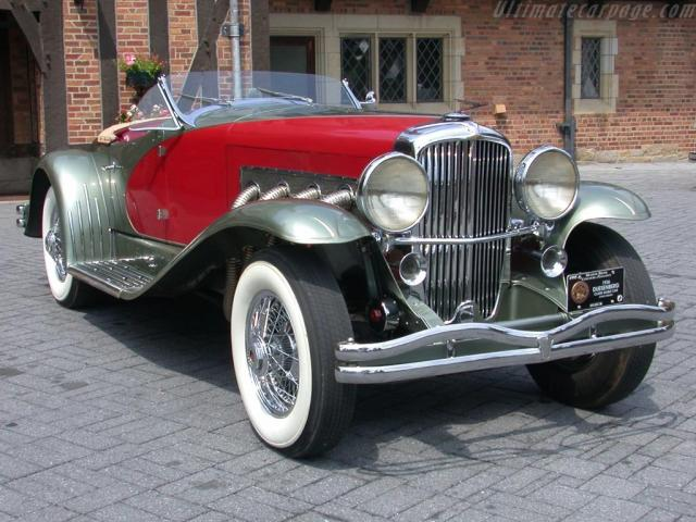 Our list of sexy cars includes the 1936 Duesenberg SSJ Speedster