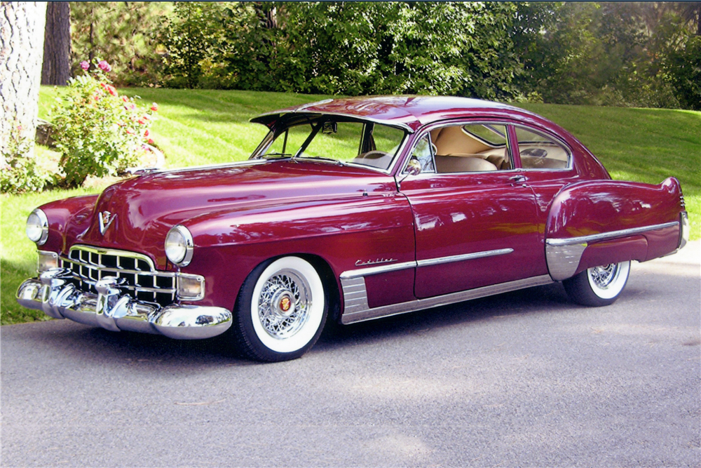 Our list of sexy cars includes the the 1948 Cadillac Series 61 Sedanette