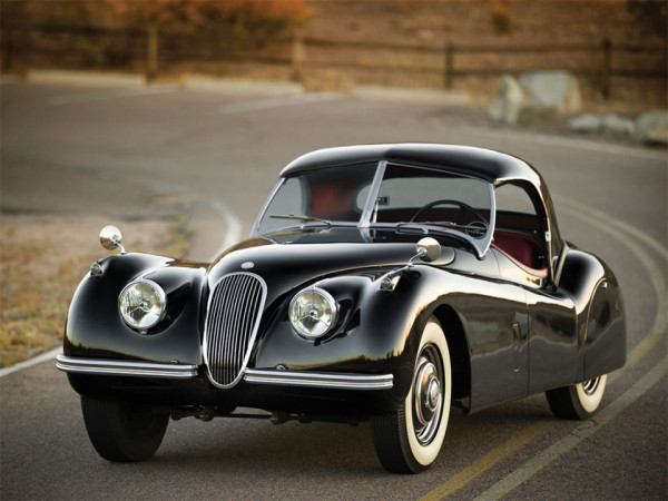 Our list of sexy cars includes the 1954 Jaguar XK120