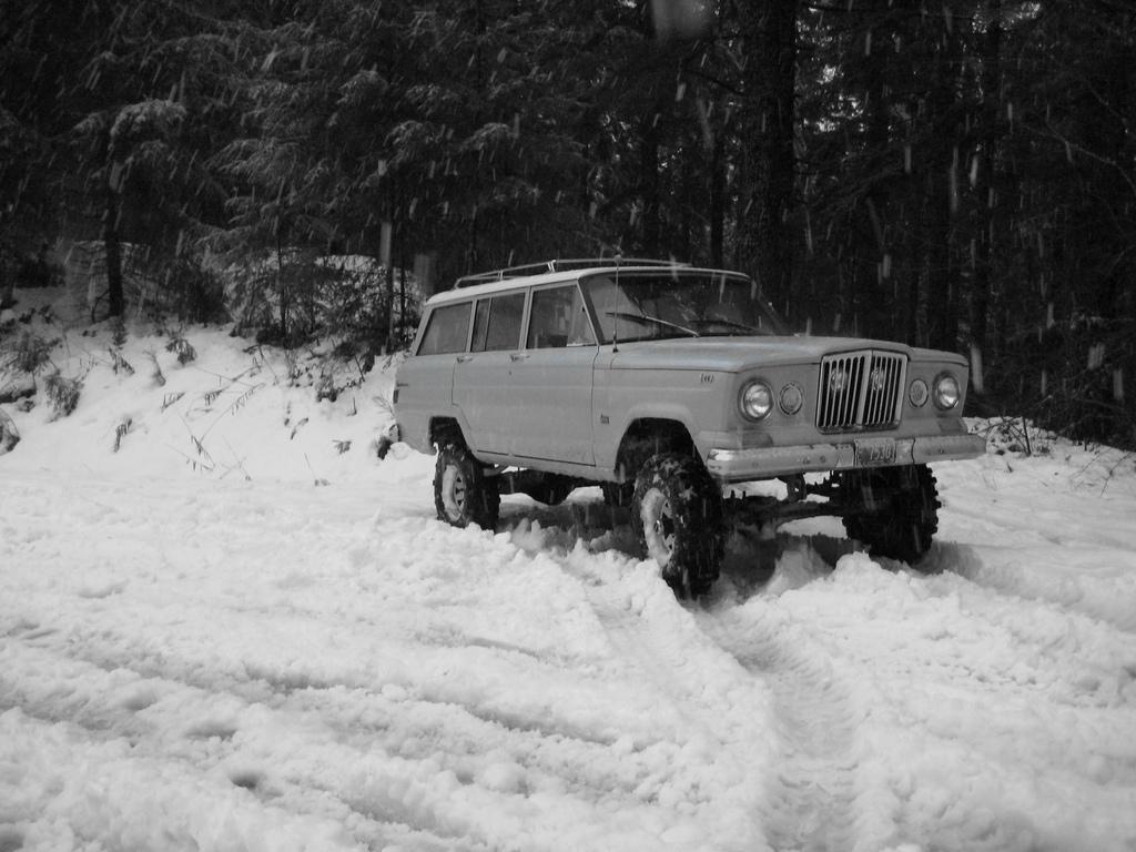 V8 Jeep engines powered the Jeep Wagoneer