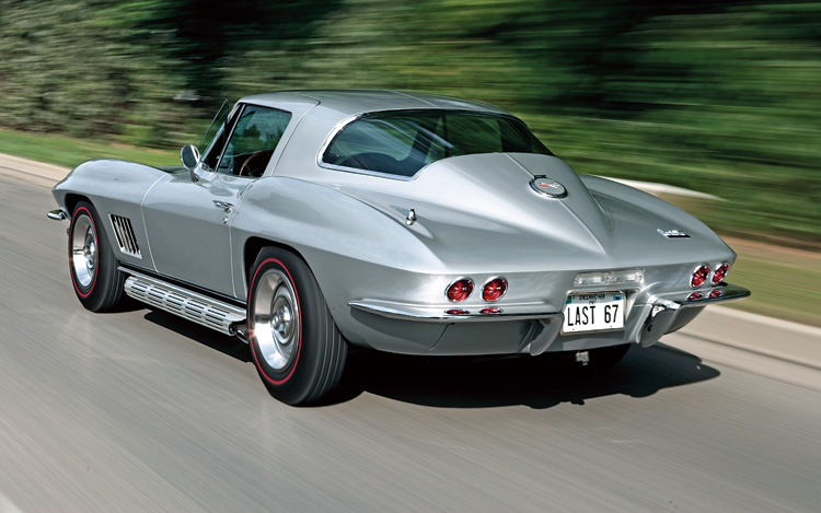 Our list of sexy cars includes the 1967 Corvette Stingray