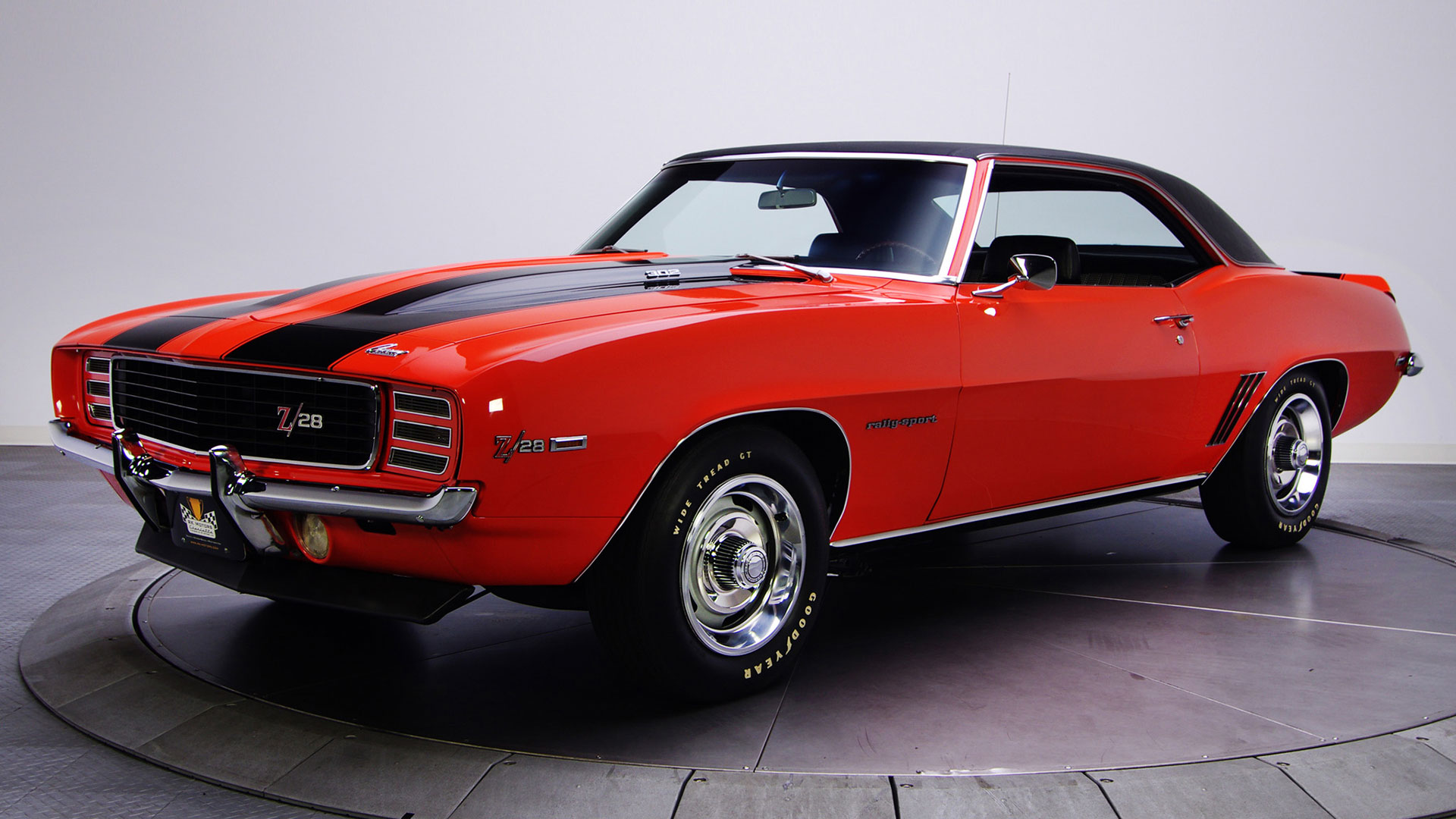 Our list of sexy cars includes the 1969 Camaro Z28 RS