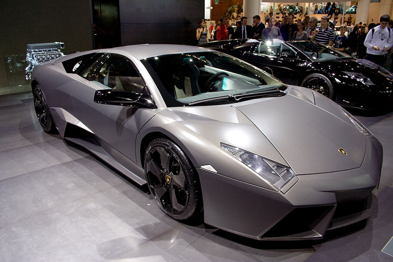 Our list of sexy cars includes the 2008 Reventon