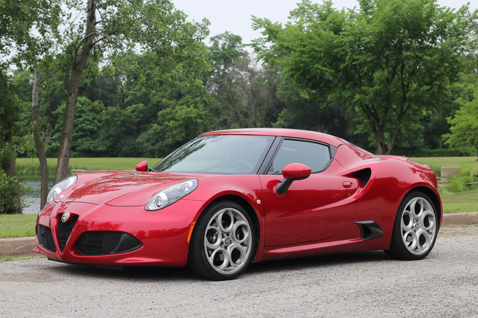 Our list of sexy cars includes the Alfa Romeo 4C