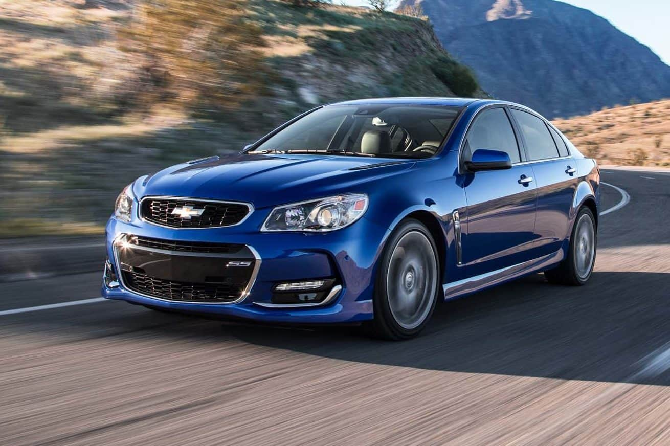 One of the cars discontinued for 2018 is the Chevrolet SS