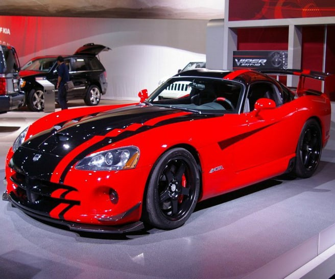 The 2017 Dodge Viper sadly is a car discontinued for 2018.