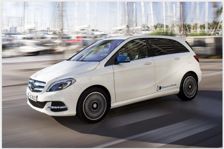 The Mercedes Benz B-class Electric Drive will be discontinued after 2018.
