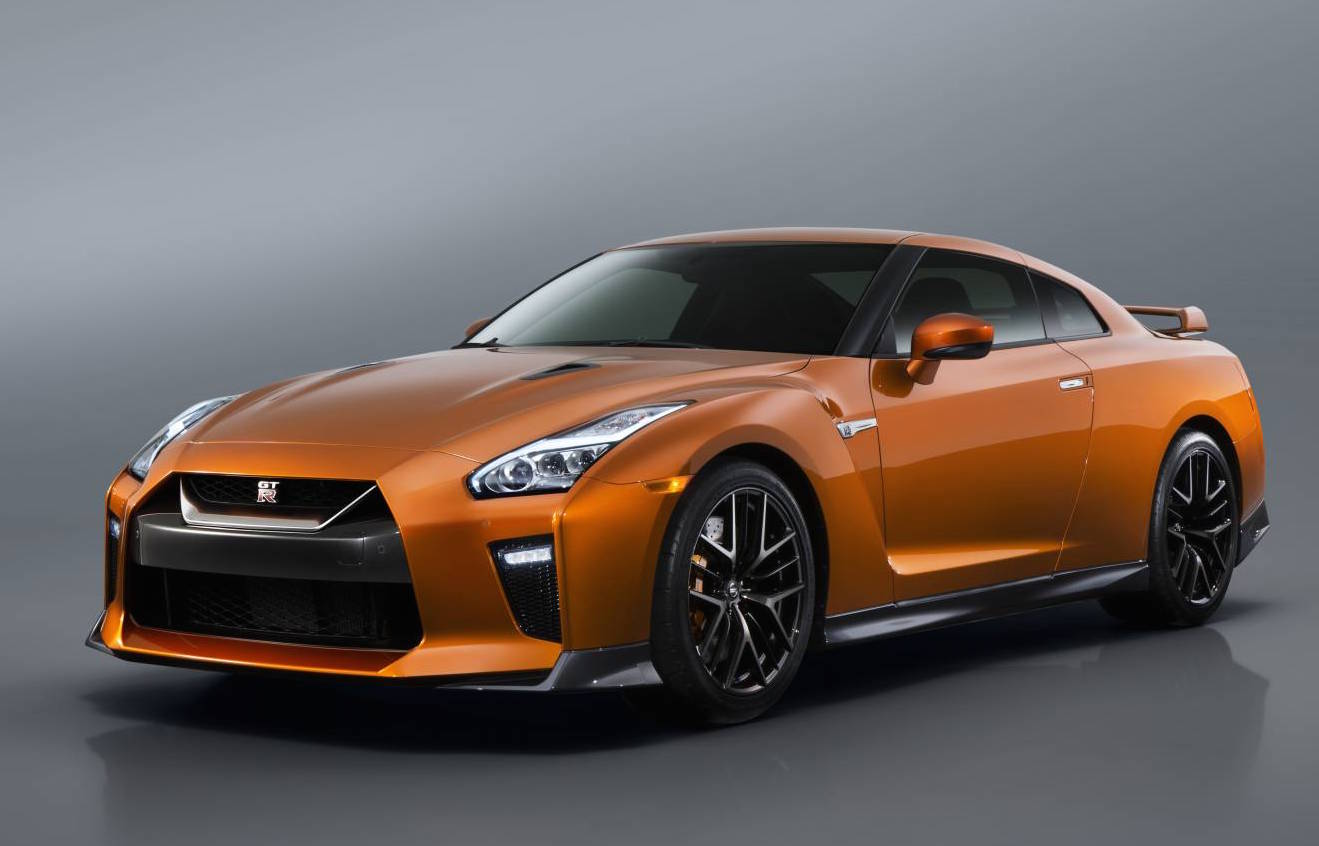 Our list of sexy cars includes the Nissan GT-R