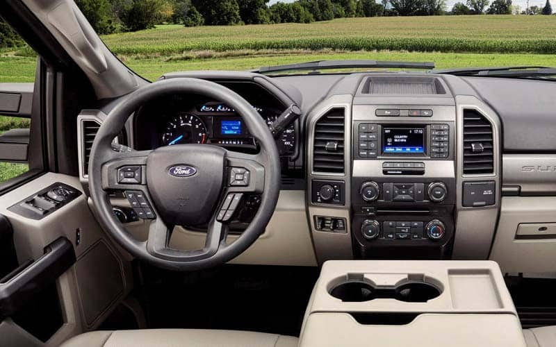 Ford F-series interior