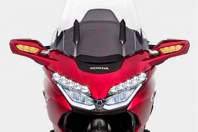 2018 Honda Gold Wing Leaked Images 5