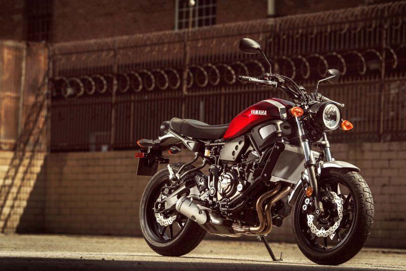 2018 Yamaha XSR700 USA 1