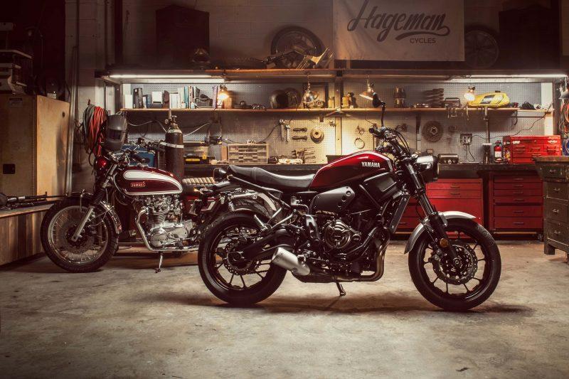 2018 Yamaha XSR700 USA 6