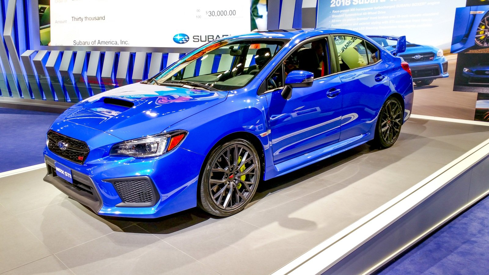 One Of The Fastest Cars Under 30K Is The Subaru WRX STI.