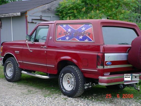 Redneck Pickup Truck - Ford Bronco (1987-1991)