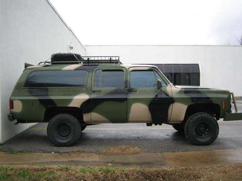 Redneck Pickup Truck - Chevy Suburban (1973-1991)