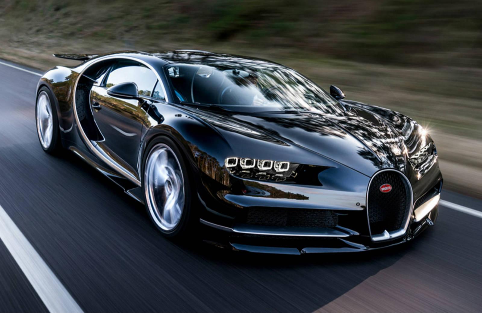 A Bugatti Chiron