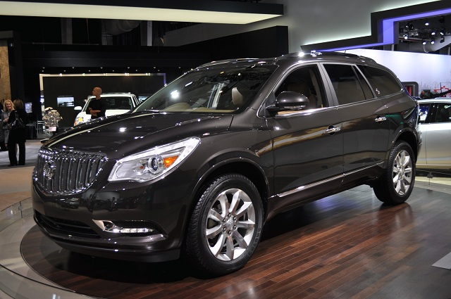 The Buick Enclave is a luxurious SUV.