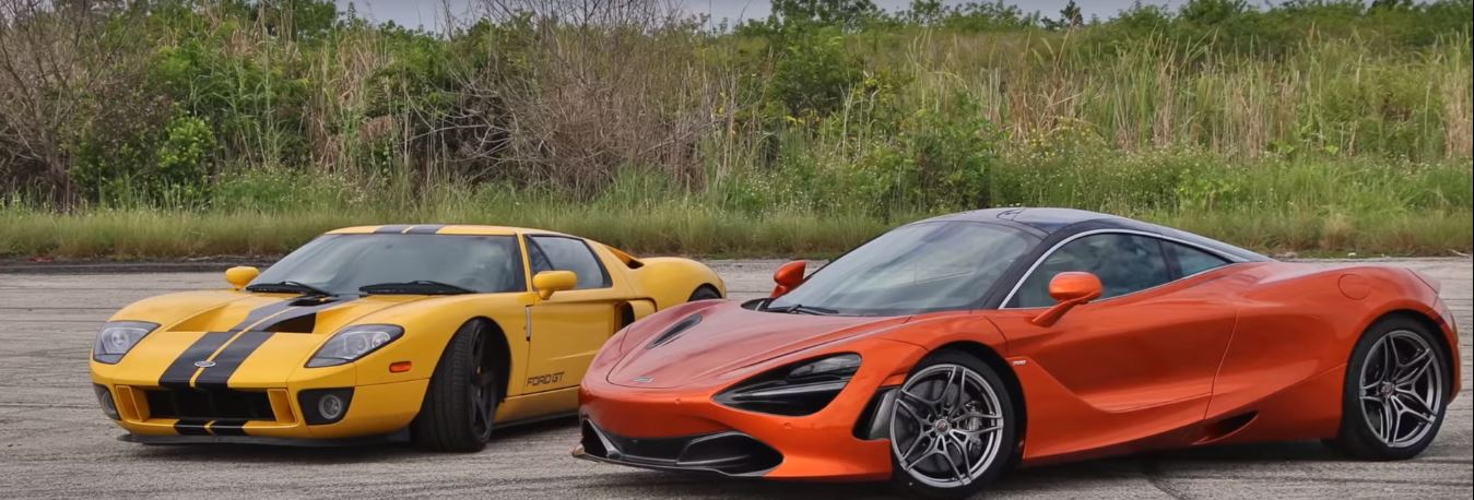 Ford Gt And Mclaren S Dragrace