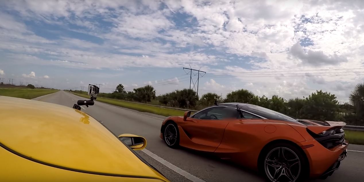 Ford GT and McLaren 720S Dragrace 1