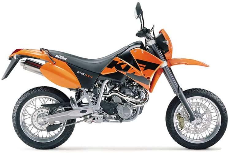 KTM 640 LC4 - Best Supermoto Bikes 1