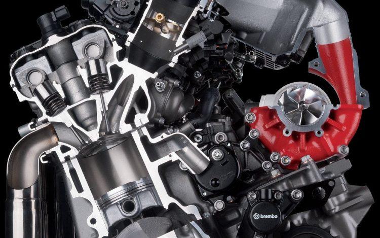 Kawasaki Ninja H2R engine