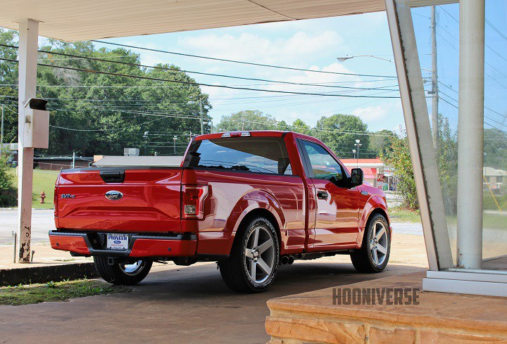 Finding Ford Lightning parts isn't necessarily easy these days, so the dealership made do with some parts from Roush instead