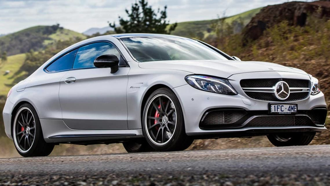 A Mercedes-AMG C63 S Coupe