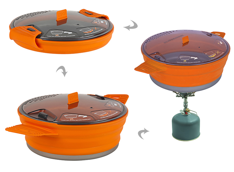 Sea To Summit X-Pot Camping Cooking Utensils