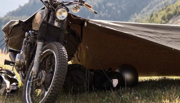 motorcycle camping pic  Motorcycle Camping 101 – Top 10 Touring Essentials