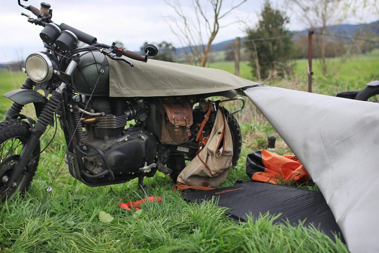 Stay Exposed Bivouac Motorcycle Tent