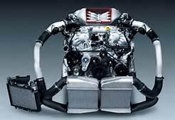 Nissan JDM engines kick asphalt.